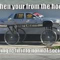 hood car