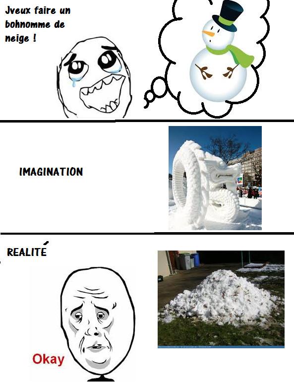 Bonhomme de neige ^^ - meme