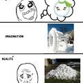 Bonhomme de neige ^^