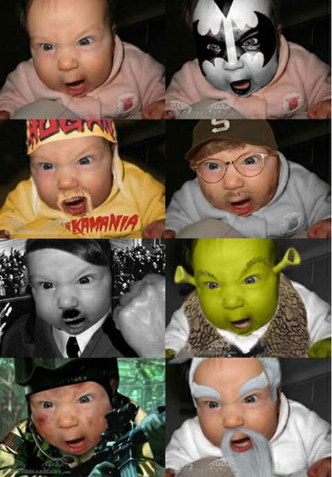 Al bebe le gusta el cosplay - meme