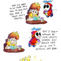 the shy guy