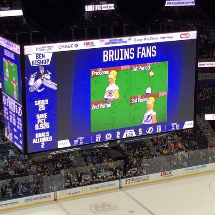 Bruins fans - meme