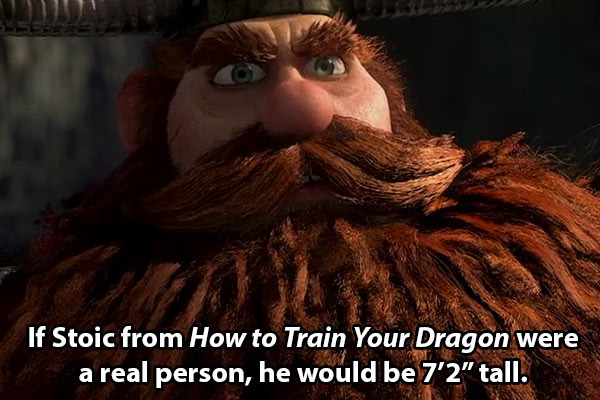 Random movie facts - meme