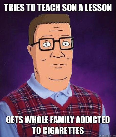 Way to go, Hank. - meme