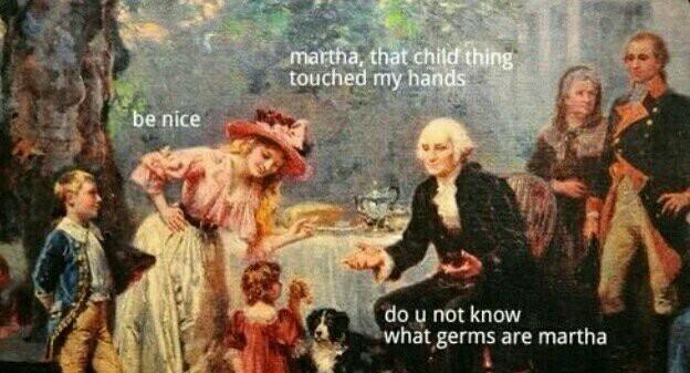 Oh George - meme