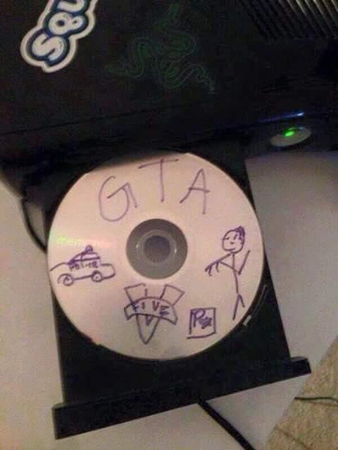 Rockstar Bledard annonce officiellement la sortie de Grand Theft Auto V au bled. - meme