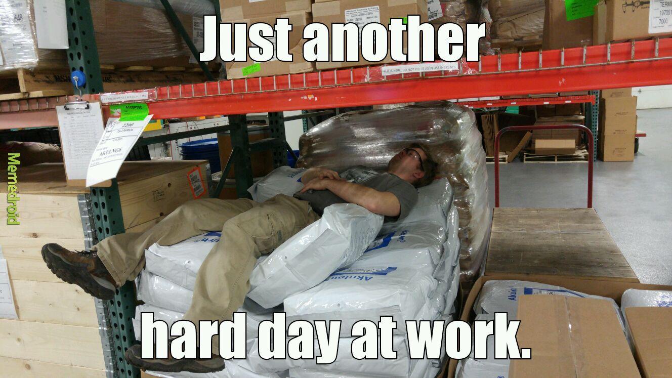 That's my boss - meme
