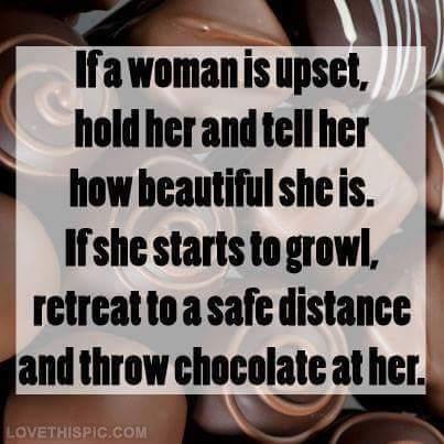 throw chocolate - meme