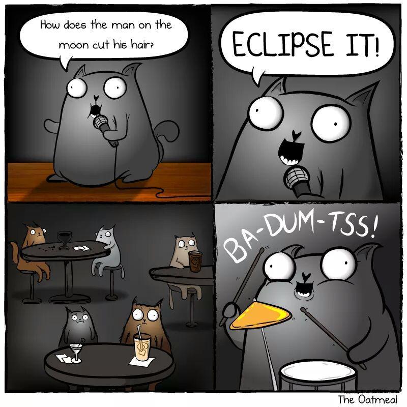 Insert moon joke here - meme