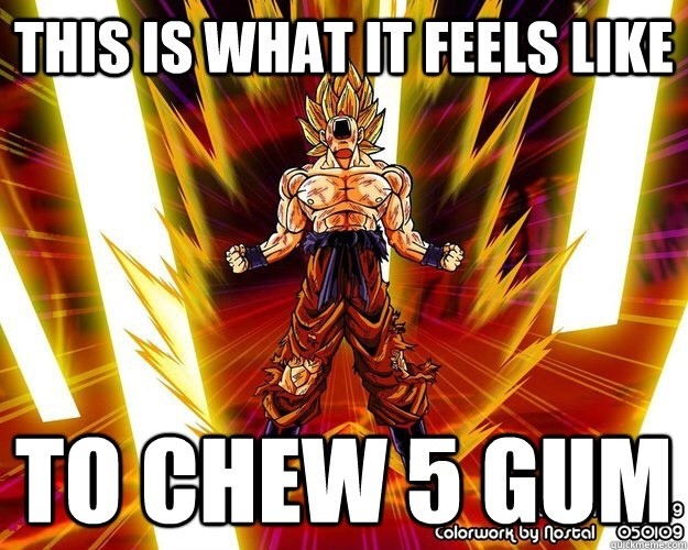 5 Gum - meme
