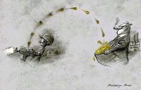 Militarismo - meme