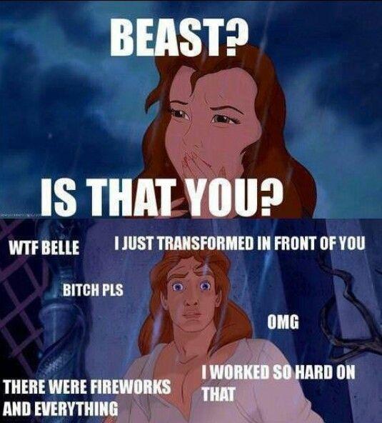 Geez Belle... - meme