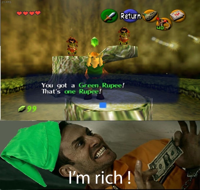 [getting rich intensifies] - meme