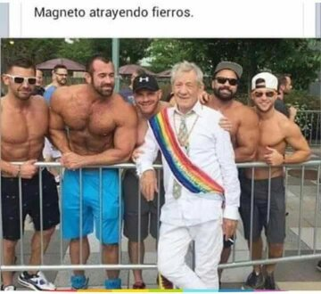 Ese Magneto (͡° ͜ʖ ͡°) - meme