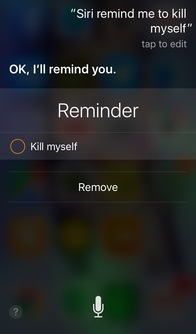 Thanks Siri - meme