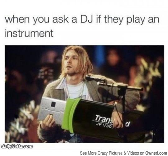 Kurt Cobain - meme