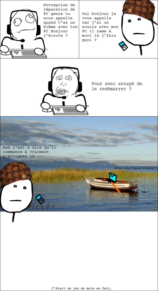 Ses plans sont tombé à l'eau ... - meme