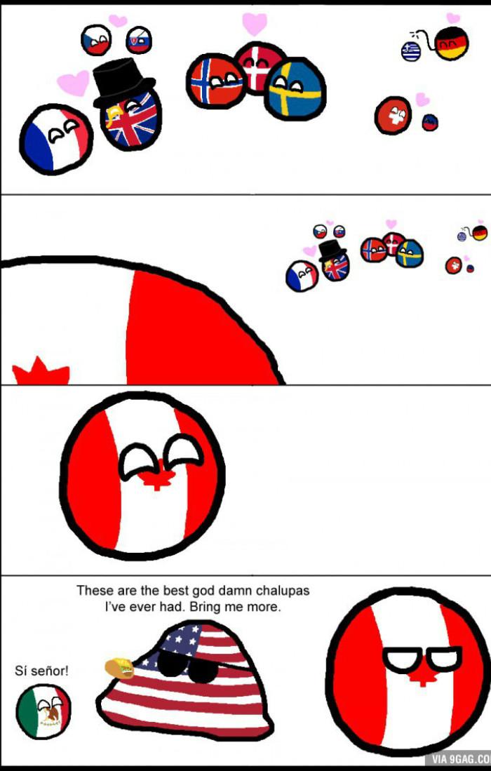 Poor Canada - meme
