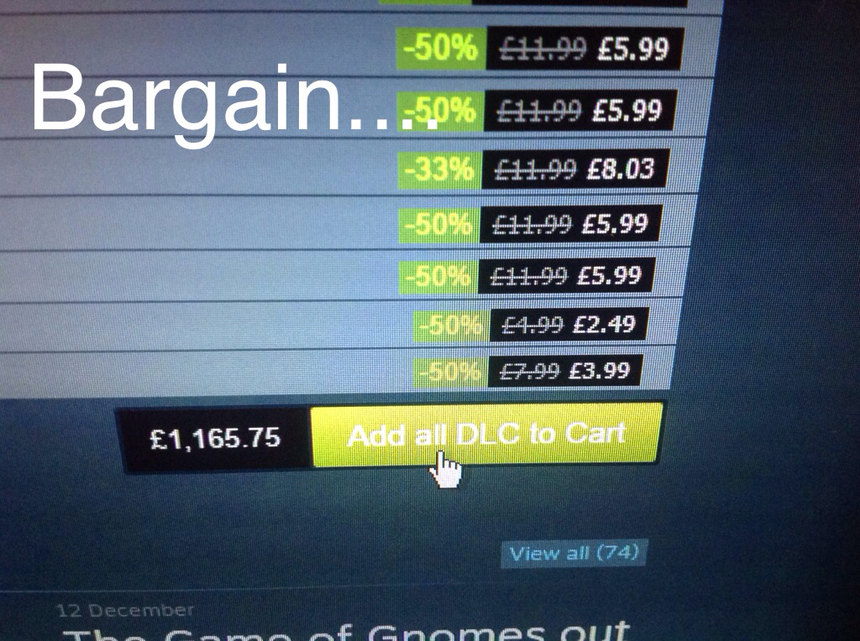 Steam deals are off the charts... - meme