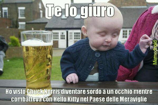 Bambino, basta birra!!! - meme