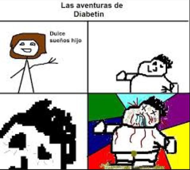 Las Aventuras De Diabetin #1 ( like para mas ) - meme