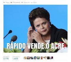 Dilma sendo Dilma - meme