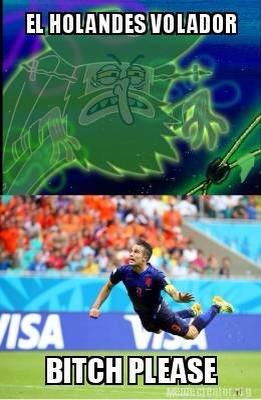 El Holandes Volador - meme