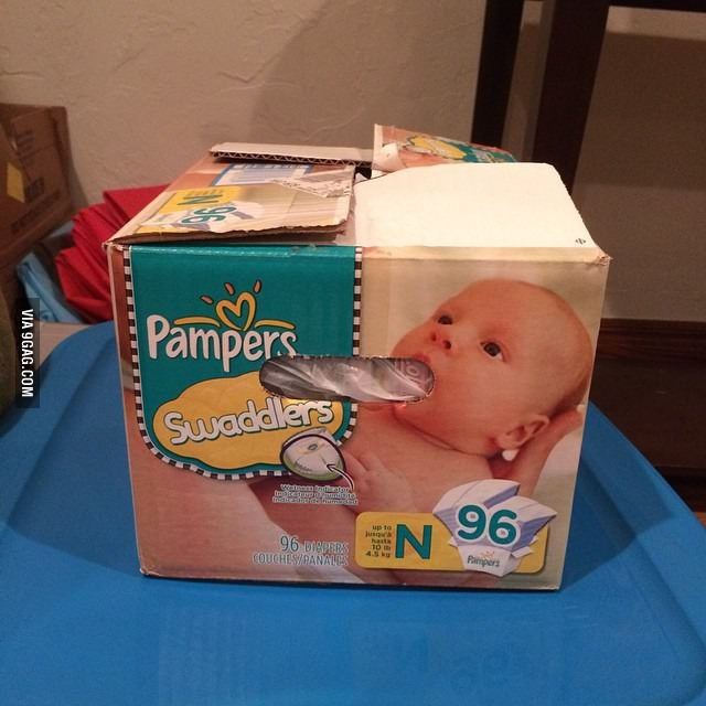 Beau travail Pampers ! - meme