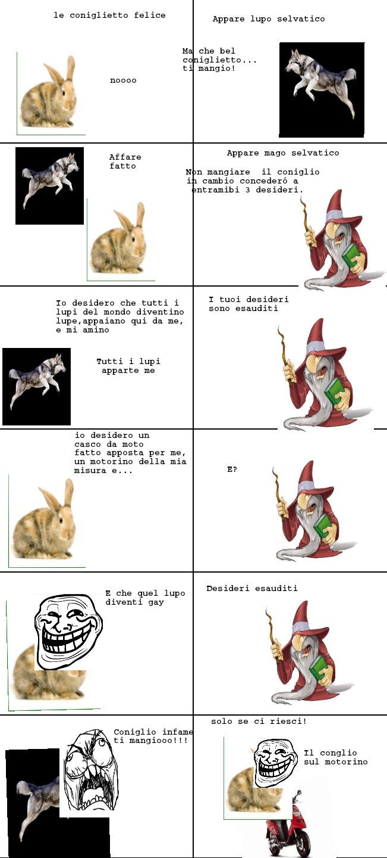 Rabbit Vs Wolf - meme