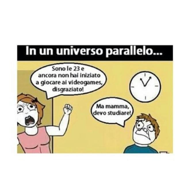 Universo parallelo - meme
