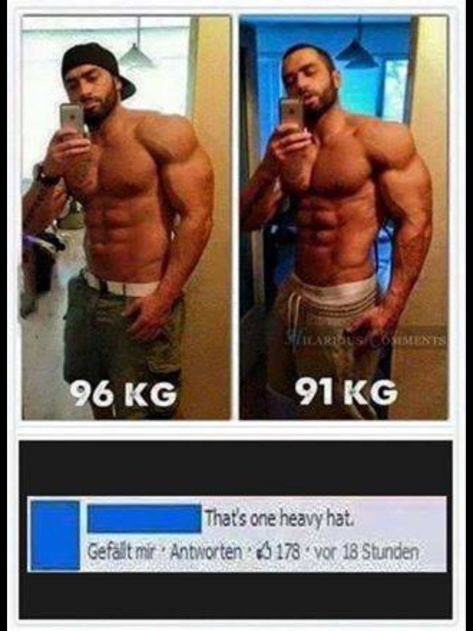 Heavy hat - meme