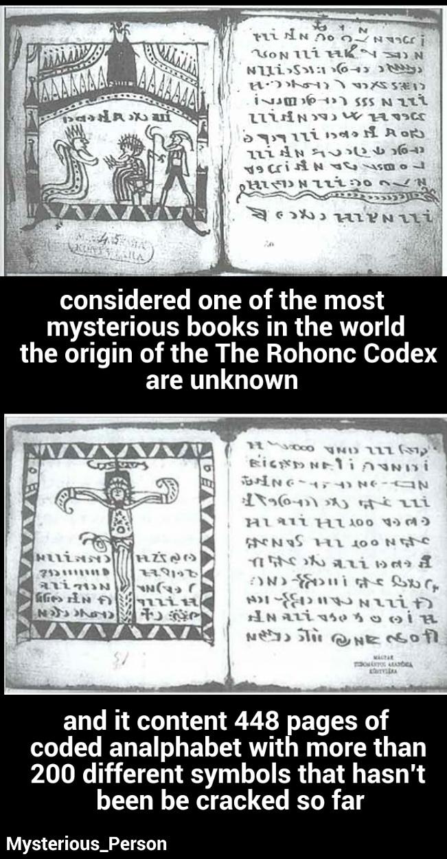 The Rohonc Codex - meme