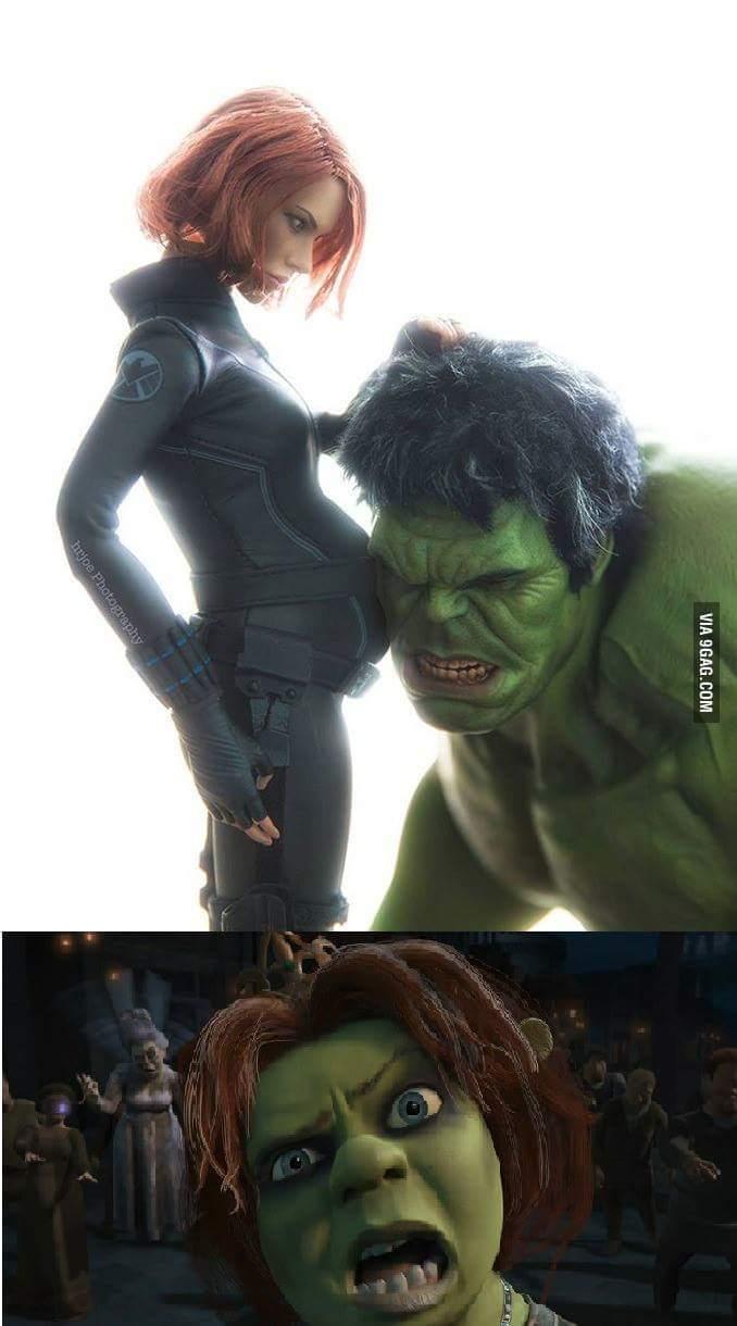hija de Hulk - meme