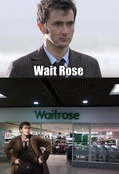 Wait rose.. - meme