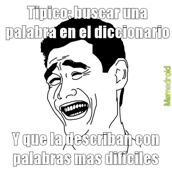 Diccionario troll - meme