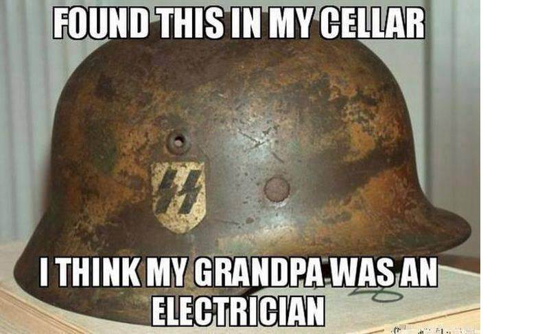 Yeah....an electrician. Probably in Germany - meme