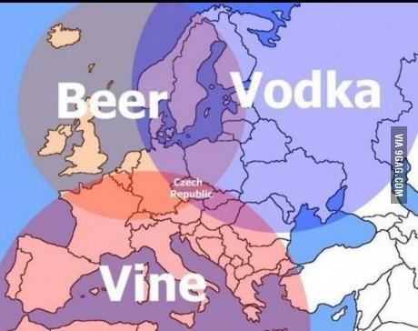 Todos a mudarse a la República checa - meme