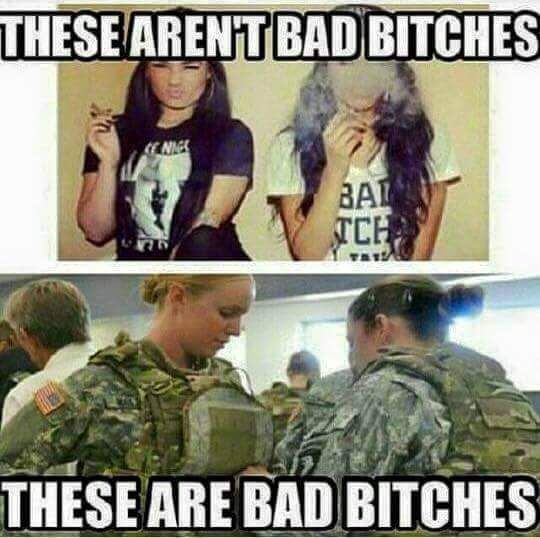 Bad bitches - meme