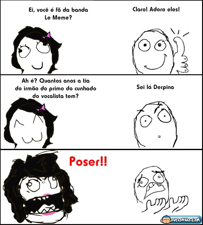 Posers (°×°) - meme