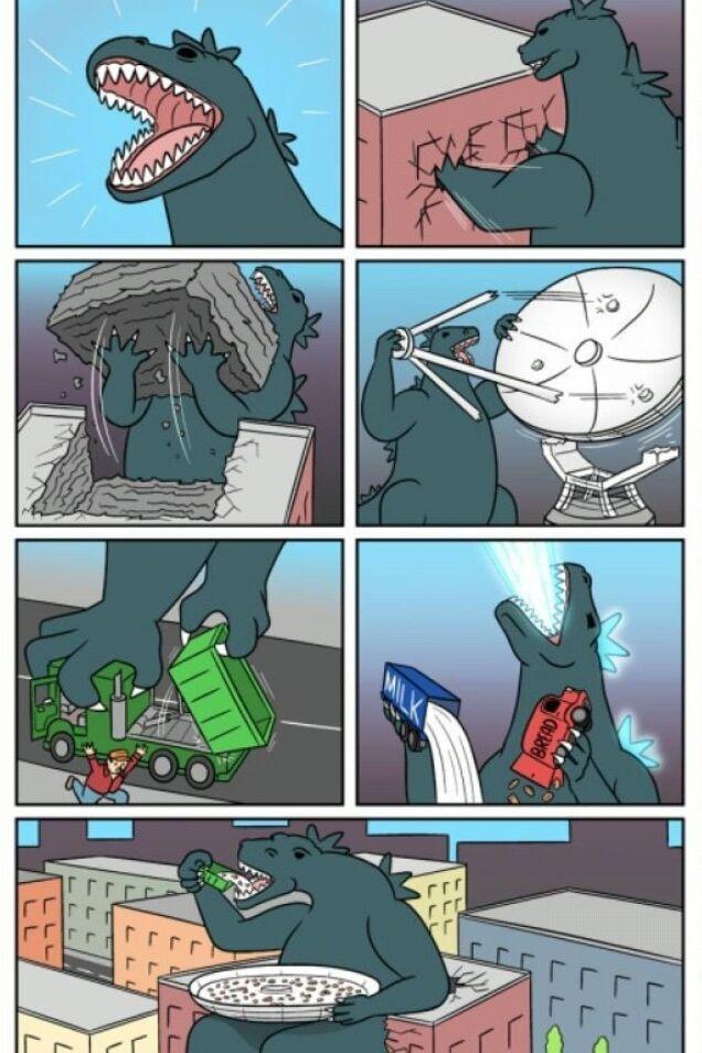Godzilla - meme