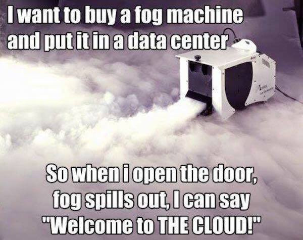 I wanna hug a cloud - meme