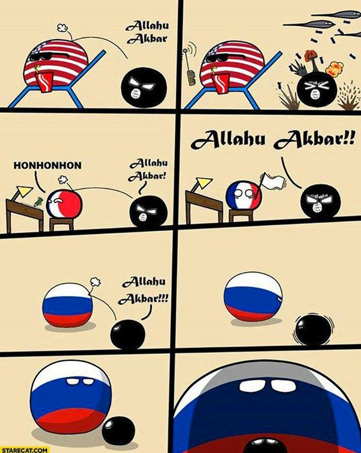 What rusia fight - meme