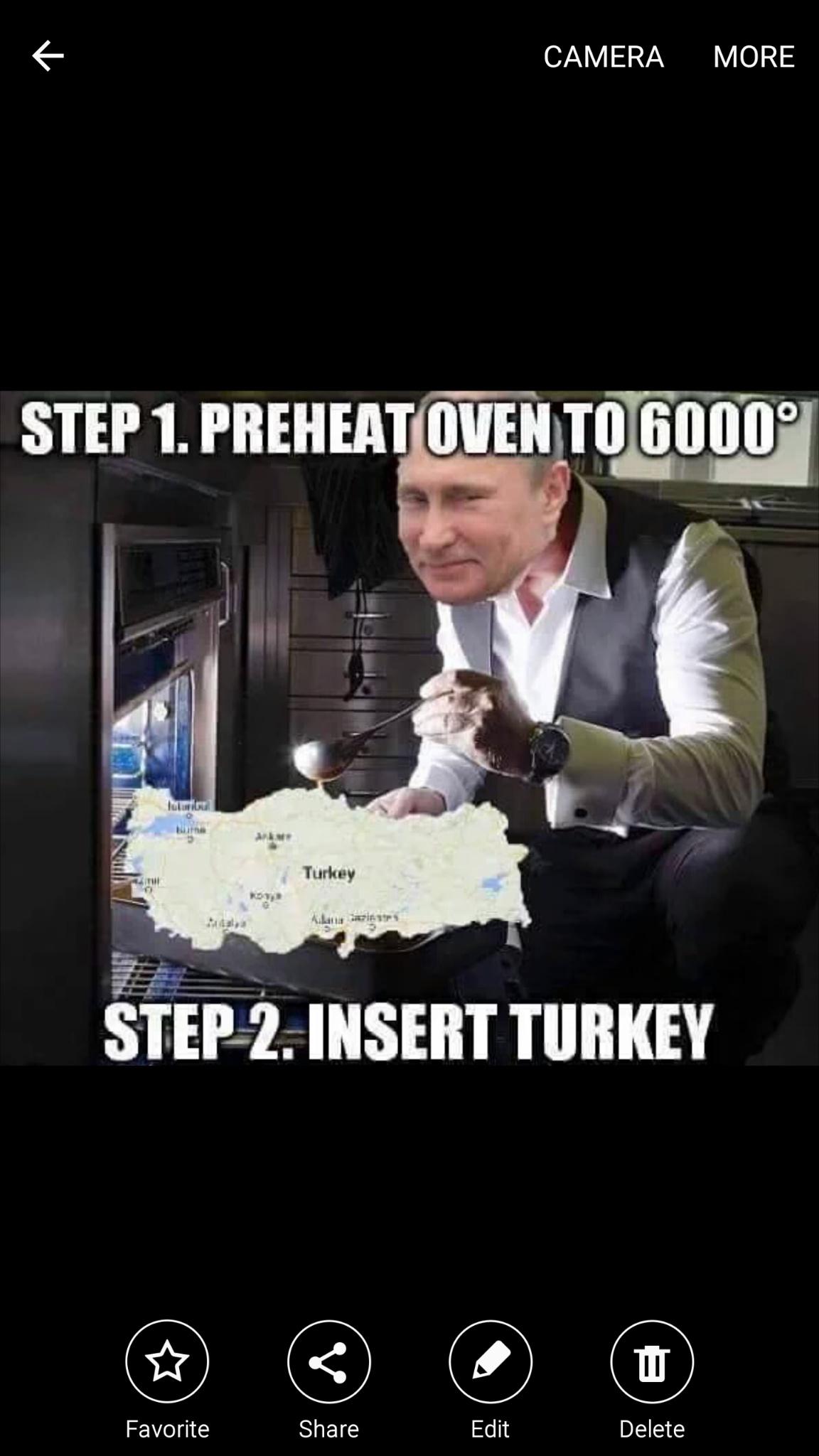 Le Turkey for Christmas - meme
