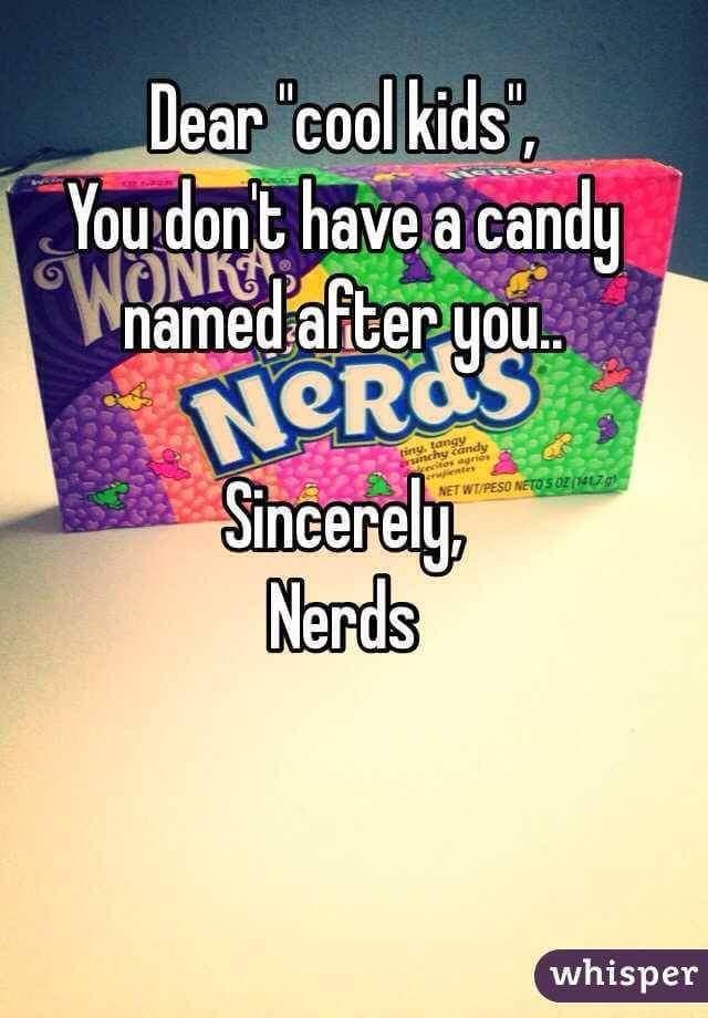 Nerds! - meme
