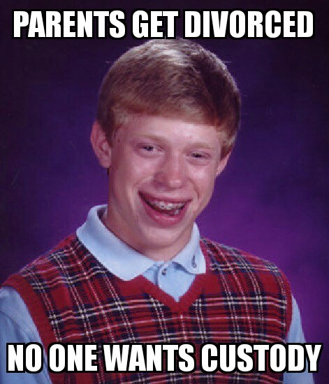 Bad luck - meme