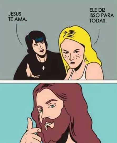 Jesus sabe - meme
