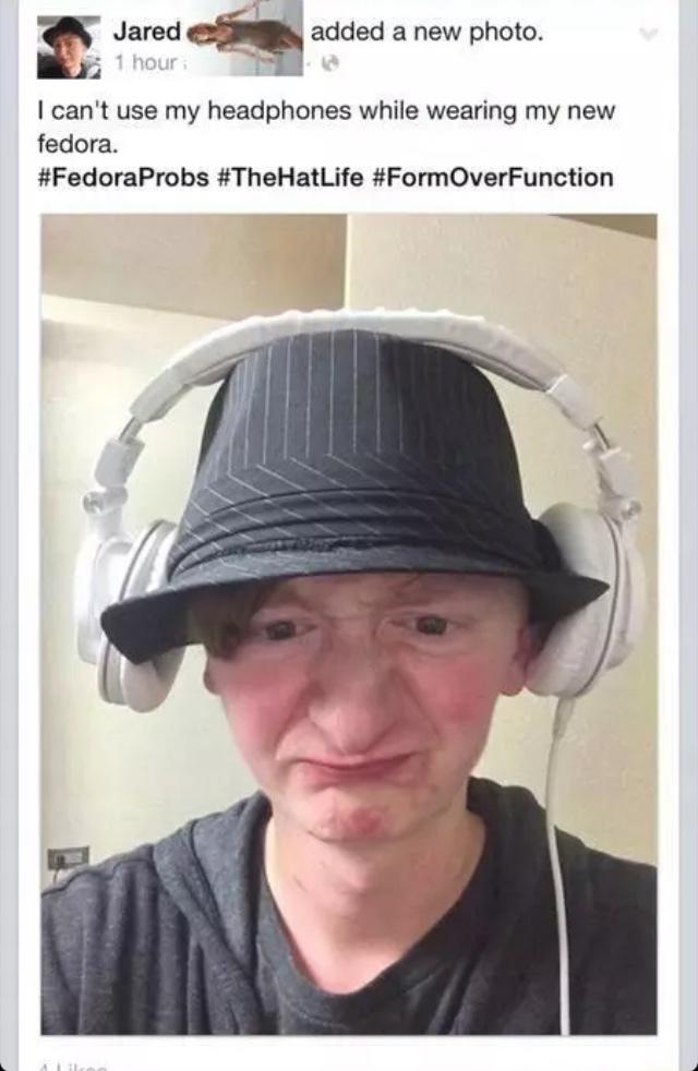 fedora probs - meme