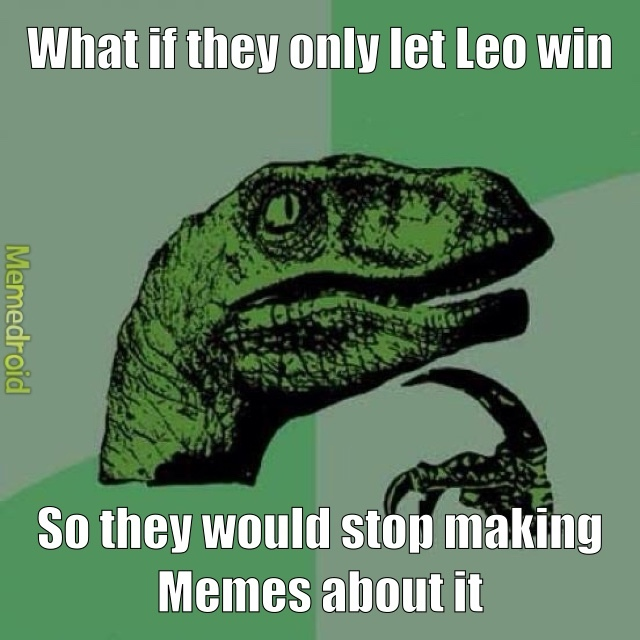 a little late to the leo meme party