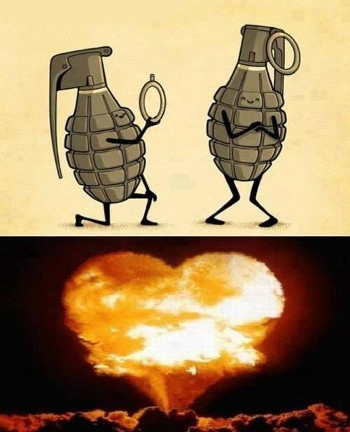 Amor bombastico - meme