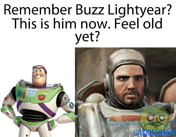 He's gone a long way ever since he thought he was a toy. - meme